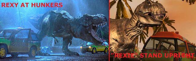 File:Rexy vs Rexie.jpg