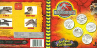 Royal Canadian Mint Jurassic Park III set