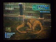 Brachiosaurus sleeping