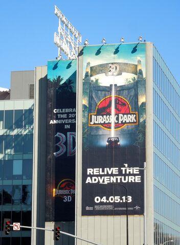 File:JurassicPark 3D movie billboard.jpg