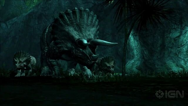 File:Mother and Baby Triceratops.jpg