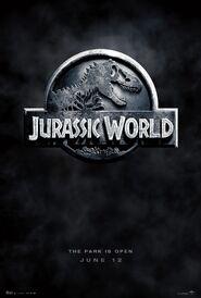 Jurassic World Teaser Poster