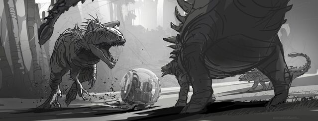 File:JurassicWorld IndominusRex FightSketch.jpg