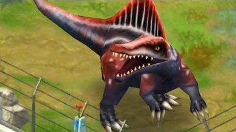 Jurassic Park Builder - Spinosaurus Jurassic Park