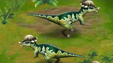 Jurassic Park Builder - Pachycephalosaurus Jurassic Park