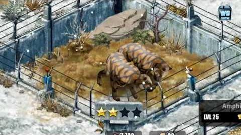 Jurassic Park Builder - Amphicyon Glacier Park LIMITED