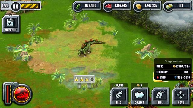 File:Jurassic Park Builder Game Pictures Dinosaurs Stegosaurus Levels 32.png