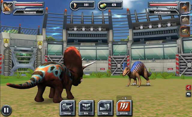 File:Jurassic Park Builder Battle Arena Gallimimus23 Nov. 03, 2015.jpg