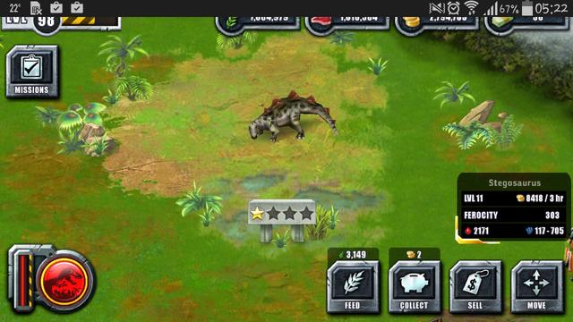 File:Jurassic Park Builder Game Pictures Dinosaurs Stegosaurus Levels 11.png