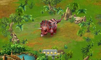 Image - Level 40 Triceratops.png | Jurassic Park Builder ...