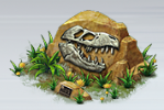 File:T-Rex Fossil.png