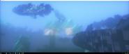 Coelacanths ocean monument 3