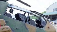 Kawasaki OH-1 Cockpit