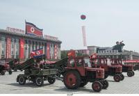 Scando Battle Tractor Mk.2 (north Korean parade)