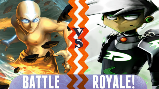 File:Battle Royale Avatar Aang vs Danny Phantom.png