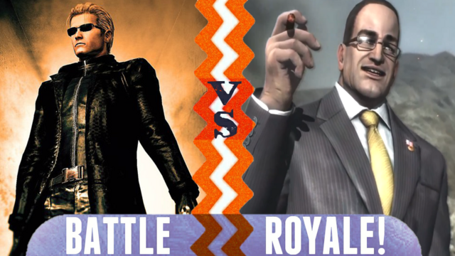 File:Battle Royale Albert Wesker vs Senator Armstrong.png