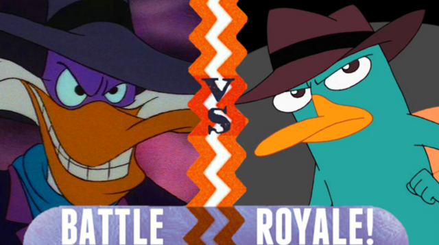 File:Battle Royale Darkwing Duck VS Perry the Platypus.png
