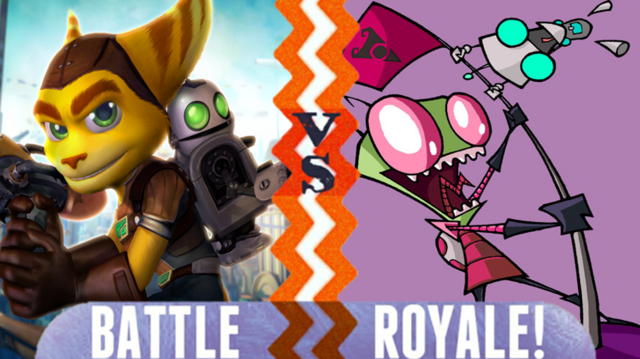 File:Ratchet and Clank vs Zim and Girr.PNG