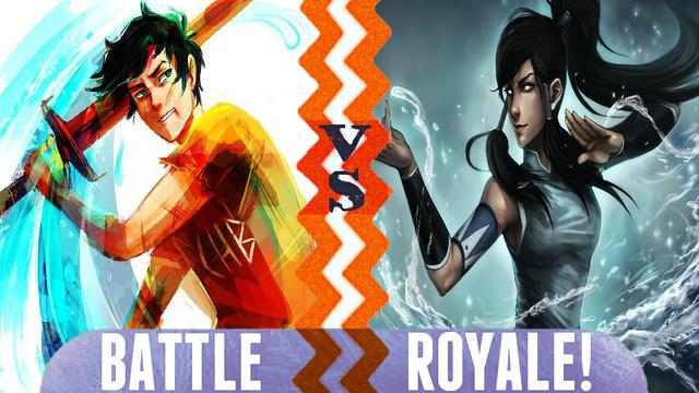 File:Battle Royale Percy Jackson vs Avatar Korra.png