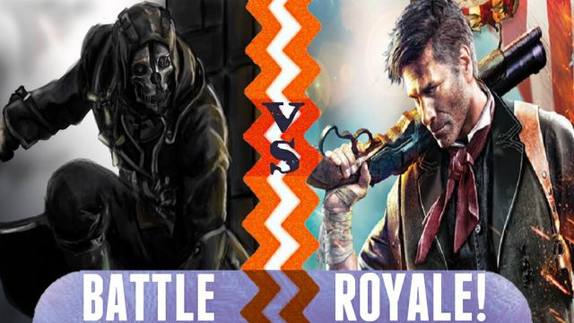 File:Battle Royale Corvo Attano vs Booker DeWitt.png