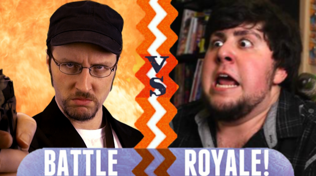 File:Battle Royale Nostalgia Critic VS JonTron.png