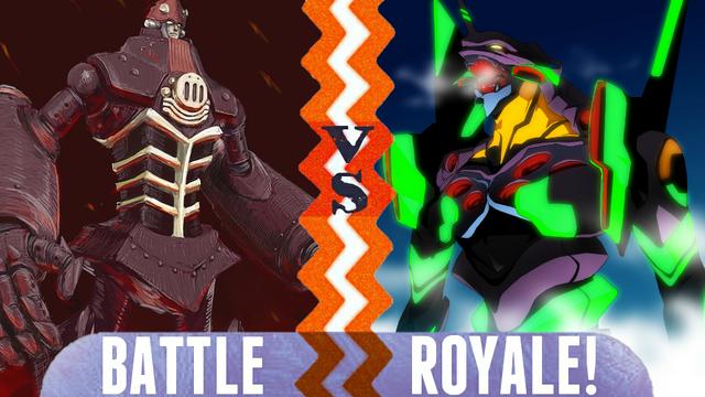 File:Battle Royale The Bio O vs Evangelion Unit-01.png