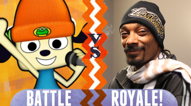 File:Battle Royale Parappa the Rapper VS Snoop Dogg.png