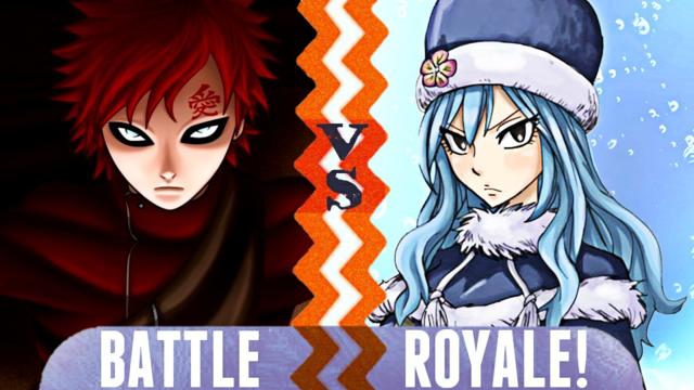 File:Gaara VS Juvia Battle Royale.png