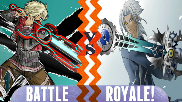 File:Battle Royale Shulk vs Young Xehanort.png