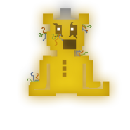 Golden Freddy minigame