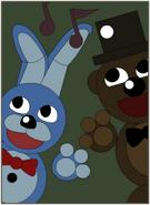 Bonnie & Freddy Poster