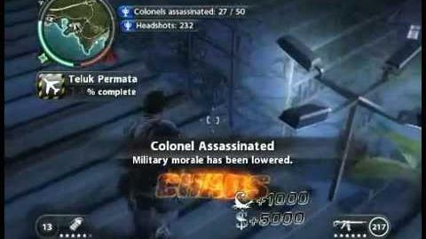 Just Cause 2 Colonel Assassination