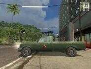 Shimizu Tumbleweed, Guerrilla version, (patrol), side view.