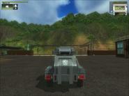 San Esperito Military Harland DTWV-2 AA Gun Back