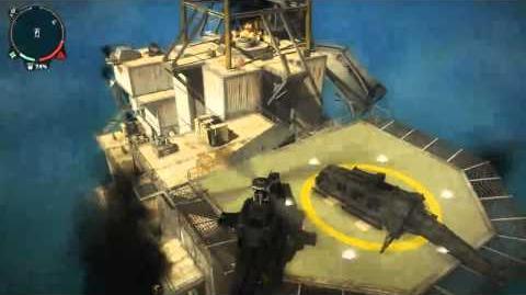 Just Cause 2 - Oil Rigs Pelantar Gas Panau Utara