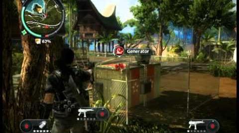 Just Cause 2 - Kampung Bahari Village - faction stronghold