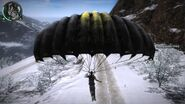Chaos parachute modded with smiley face