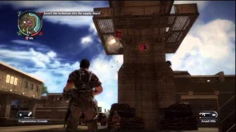 Just Cause 2 - Stronghold Takeover - A Second Amendment