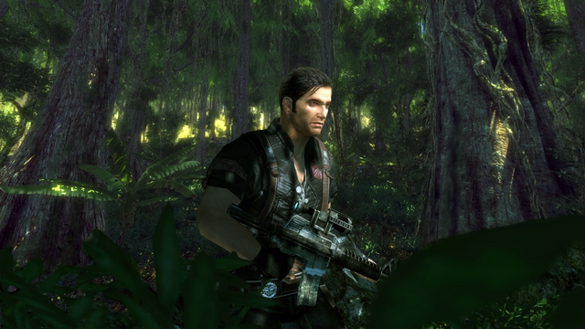 File:JC2 beta (Rico with a cancelled rifle).PNG