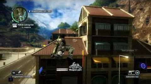 Just Cause 2- settlement completion- Pekan Lalang Liar