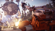 Mech using gravity gun (promotional picture from developers)