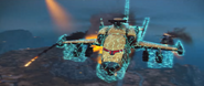 JC3 helicopter with shield (front)