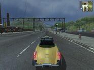 Taxi, JC1, rear view.