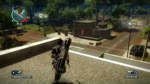 Just Cause 2- settlement completion- Paya Luas