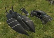 Three agency vehicles available through Heavy Drop.