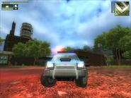Police Huerta Mesa Front