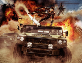 Just Cause 2 official poster