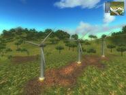 Wind Turbines on Provincia de los Bravos