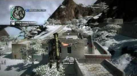 Just Cause 2- settlement completion- Pekan Batang Kelepek