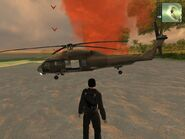 HH-22 Savior, Agency, brown version, side view.